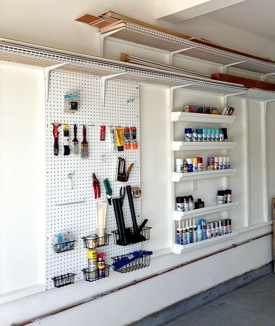 Picture Of practical and comfortable garage organization ideas  13