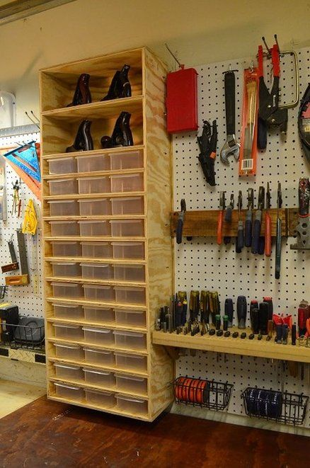 Picture Of practical and comfortable garage organization ideas  15