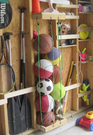 Picture Of practical and comfortable garage organization ideas  16