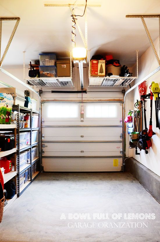 Picture Of practical and comfortable garage organization ideas  18