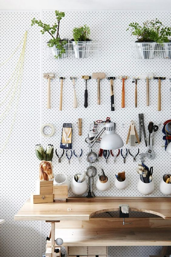 Picture Of practical and comfortable garage organization ideas  22