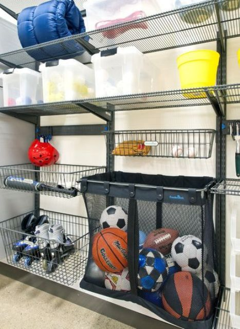 Picture Of practical and comfortable garage organization ideas  23