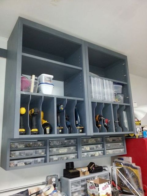 Picture Of practical and comfortable garage organization ideas  24