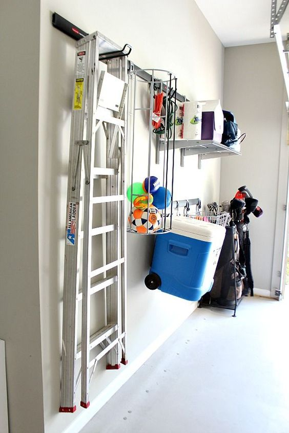 Picture Of practical and comfortable garage organization ideas  27