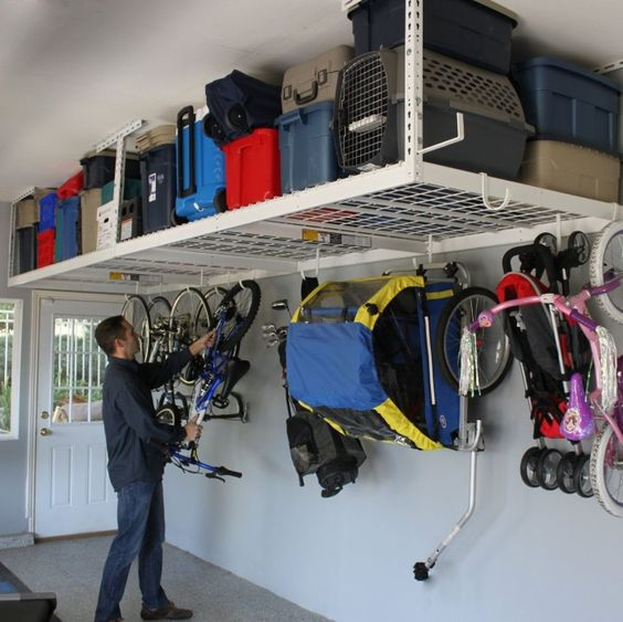 34 Practical And Comfortable Garage Organization Ideas