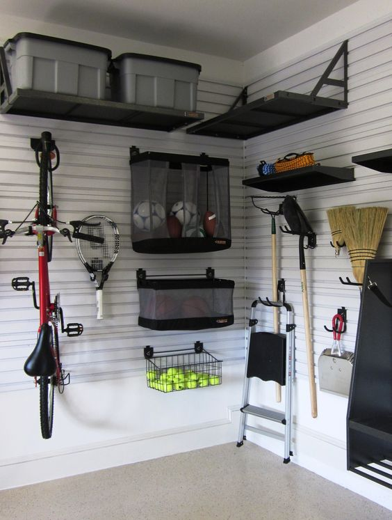 Picture Of practical and comfortable garage organization ideas  30