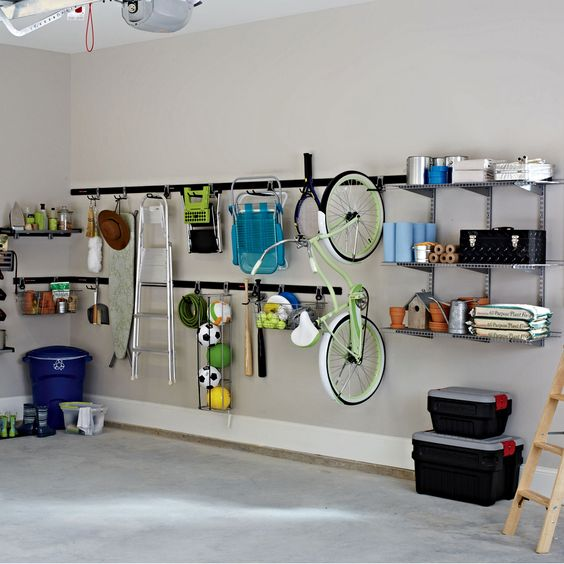 Picture Of practical and comfortable garage organization ideas  31