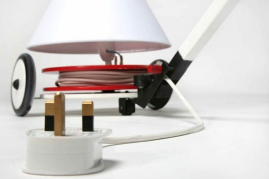 Very Practical And Stylish Lamp Producing Energy