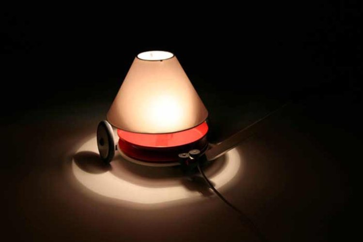 Practical And Stylish Lamp Producing Energy