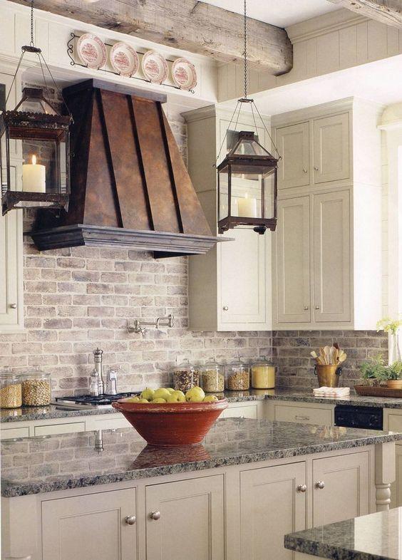 Picture Of practical andstylish brick kitchen backsplashes  2