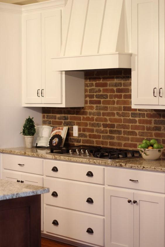 Picture Of practical andstylish brick kitchen backsplashes  21