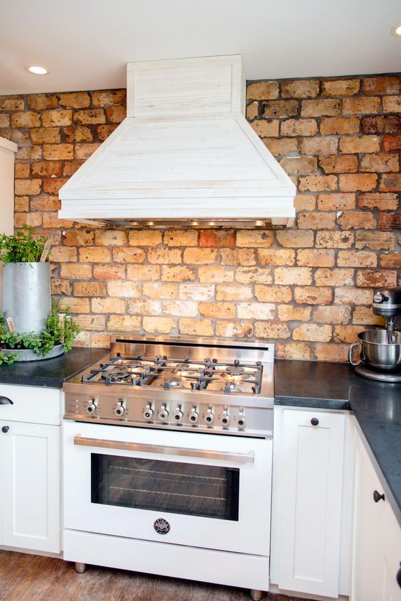 Picture Of practical andstylish brick kitchen backsplashes  22