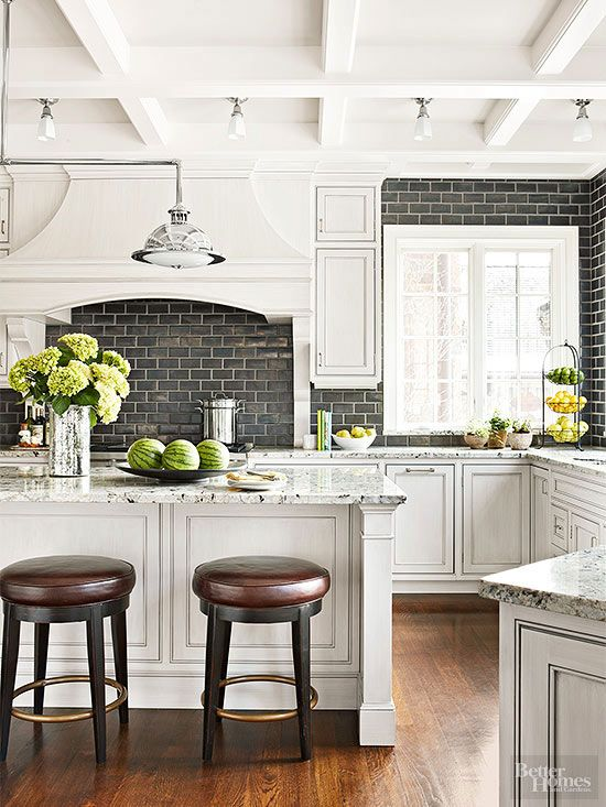 Picture Of practical andstylish brick kitchen backsplashes  29