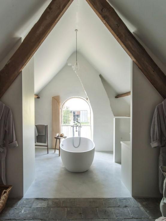 Small Bathroom Ideas Attic : Practical attic bathroom design ideas digsdigs