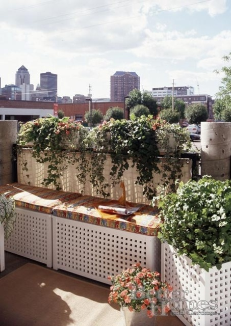 Apartment Balcony Storage