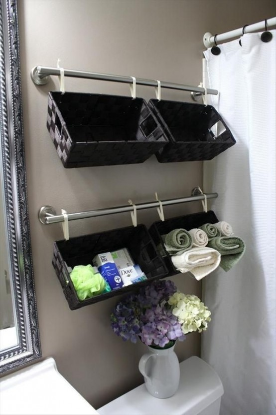 73 Practical Bathroom Storage Ideas - DigsDigs