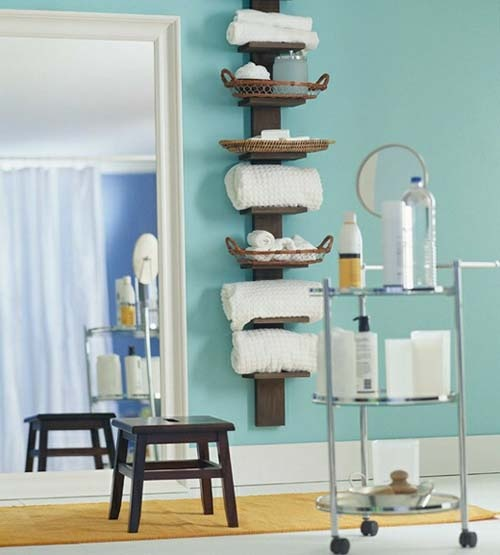 ideas digsdigs bathroom practical storage