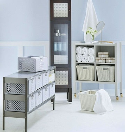 Genial Practical Bathroom Storage Ideas