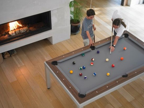 Practical Furniture For Funny Evenings Dining And Coffee Table With Built In Games