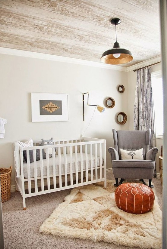 Practicl And Stylish Tiny Nursery Decor Ideas