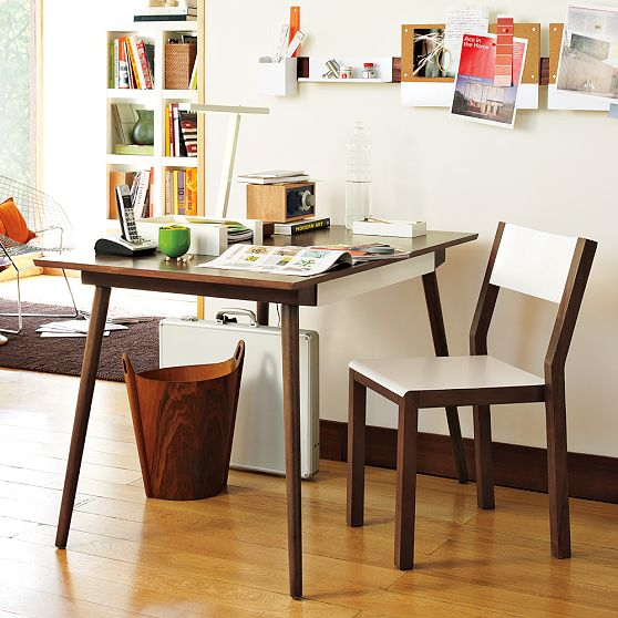 New sustainable home office furniture collection by west - Cool furniture for small spaces collection ...