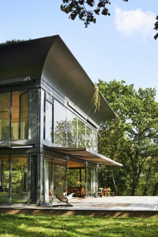 Prefab Energy Efficient Path Home