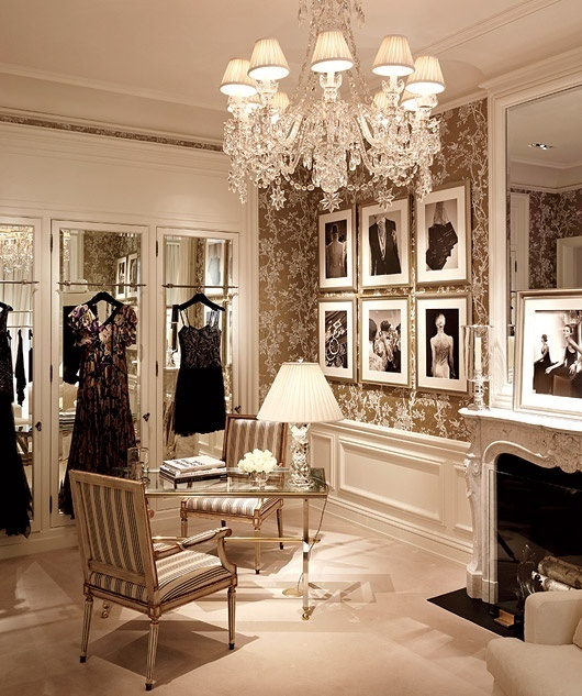 40 pretty feminine walk in closet design ideas digsdigs - Romantic living room ideas for feminine young ladies casa ...