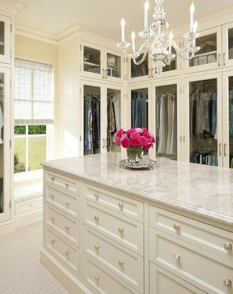 Elegant Closets 40 pretty feminine walk-in closet design ideas - digsdigs