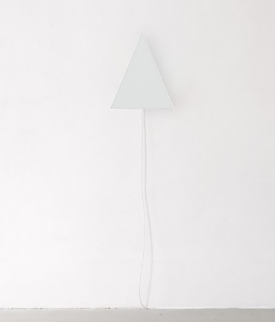 Prisma Lamps Looking Like Minimalist Sculptures