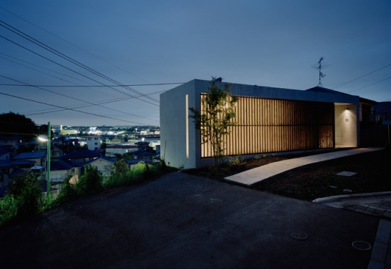 Private House in Atsugi by Kawabe Architects