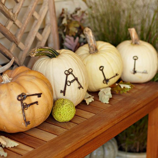 pumpkin decor ideas for fall home decor - Fall Home Decor