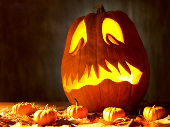 15 creative pumpkins ideas to decorate your space for halloween - Decorated Halloween Pumpkins