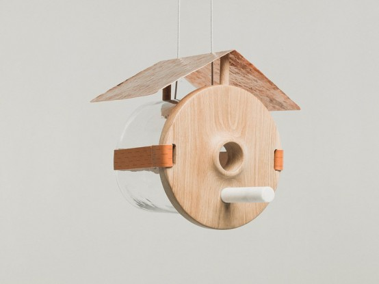 Pure Luxury For Outside Oli Bird Houses