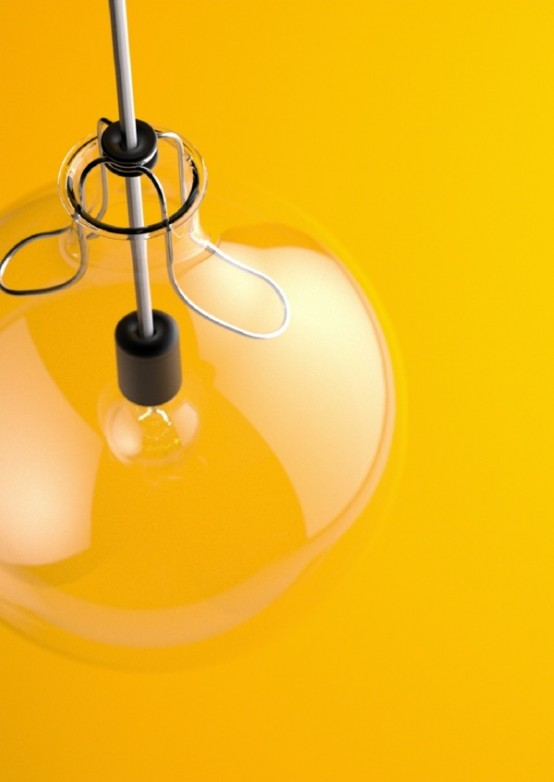 Pure Minimalism Crystal Clear Lamp No.