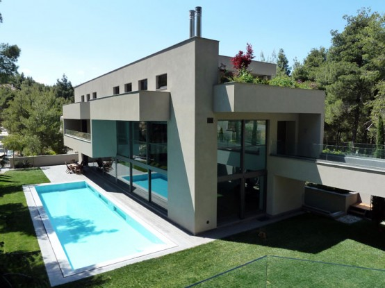 Pure and Clean Modern Dream House Designed With Sustainable ...