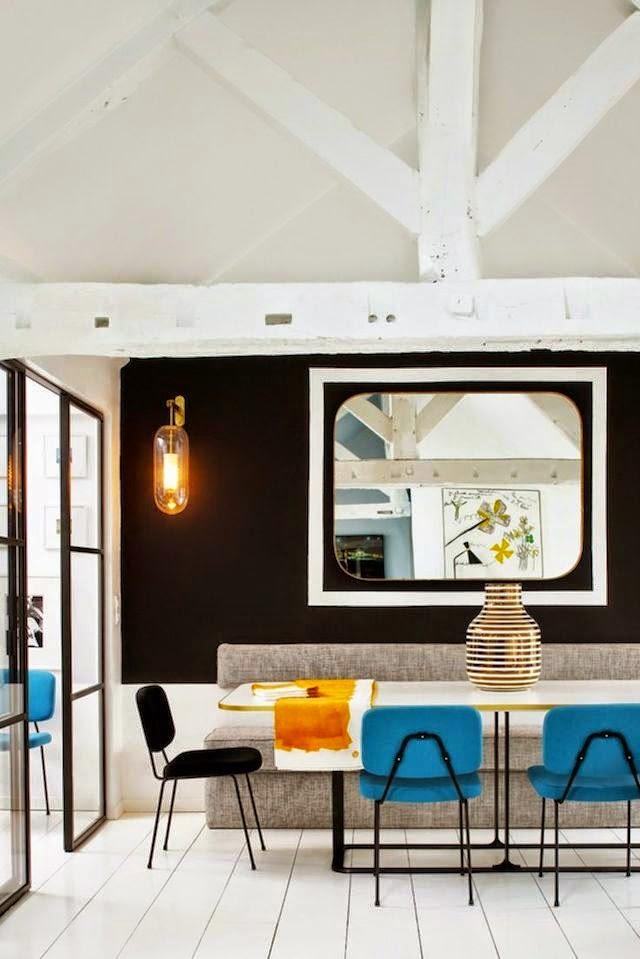 Pure Parisian Chic: Eclectic Apartment By Sarah Lavoine