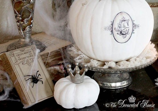 Pure White Halloween Elegant Ideas
