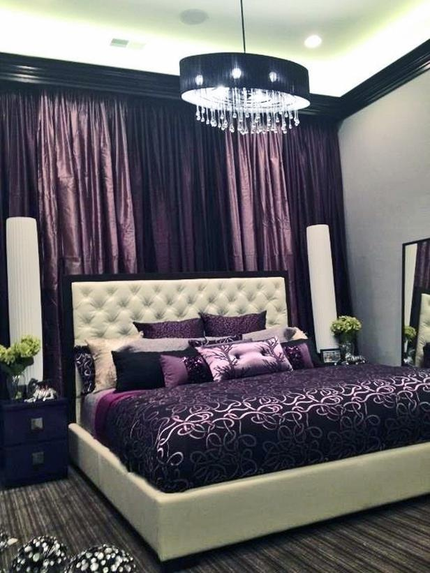 Purple Accents In Bedrooms - 51 Stylish Ideas | DigsDigs
