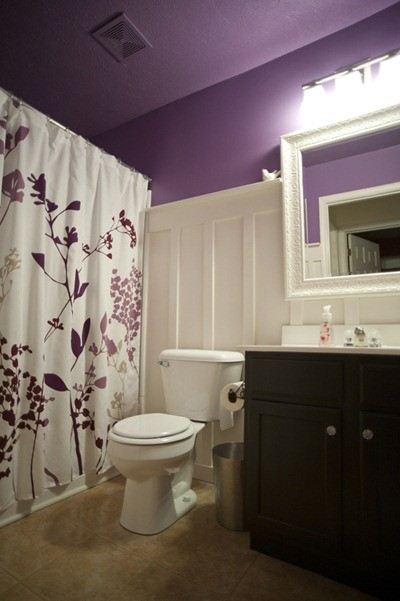 56 Cool Purple Bathroom Design Ideas