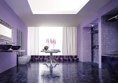 Bathroom Design Gallery on Bathroom Decor Purple Bathroom Design Ideas Purple Bathroom Designs