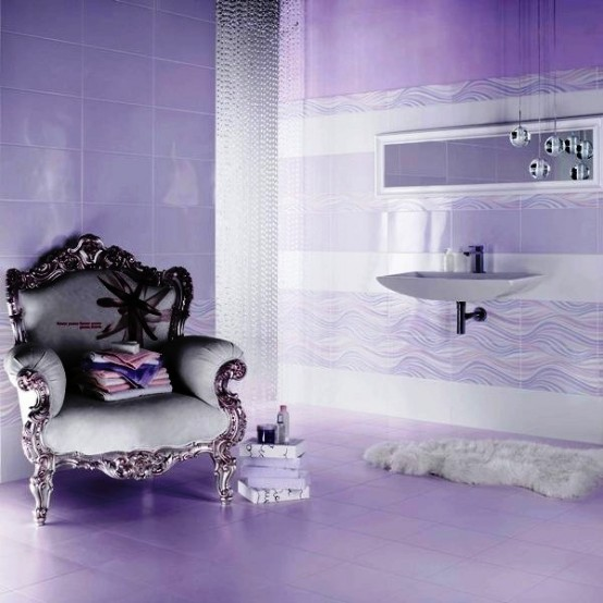 56 Cool Purple Bathroom Design Ideas Digsdigs