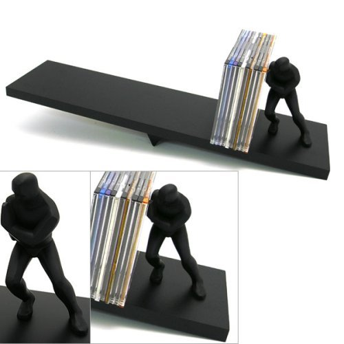 Pushing Man CD Holder