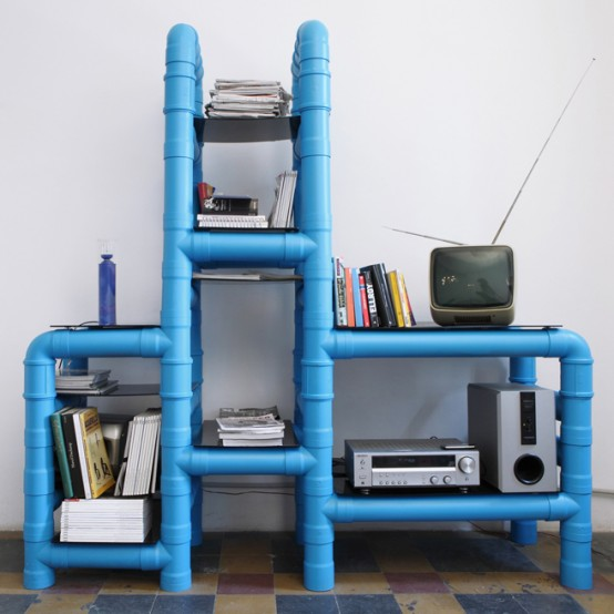 Pvc Pipes Storage Unit