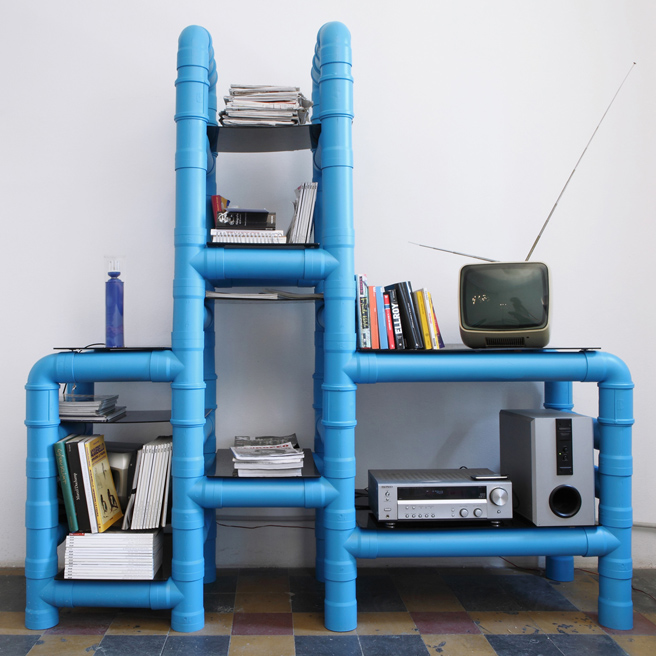 PVC Pipes Storage Unit