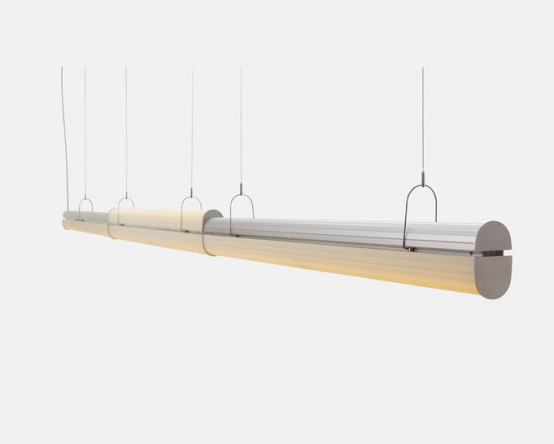 Queue modern linear led pendant system digsdigs queue modern linear led pendant system aloadofball Image collections