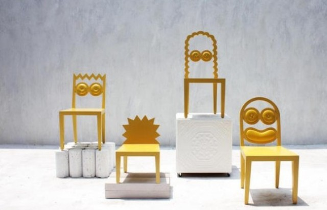 Quirky And Fun Сaricature Chairs Collection