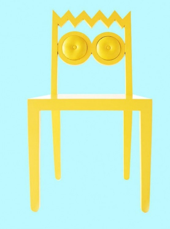 Quirky And Fun Caricature Chairs Collection