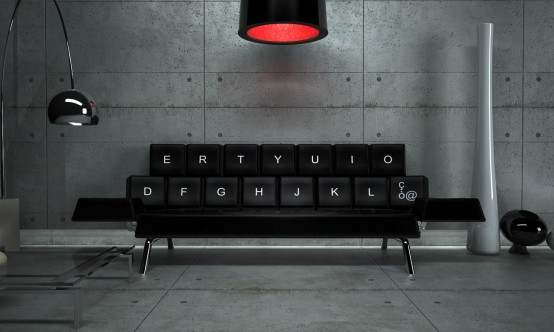 Qwerty Sofa Bed To Bring Some Humor In