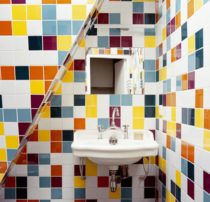 Rainbow Like Bathroom