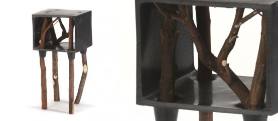 Raw Furniture Set